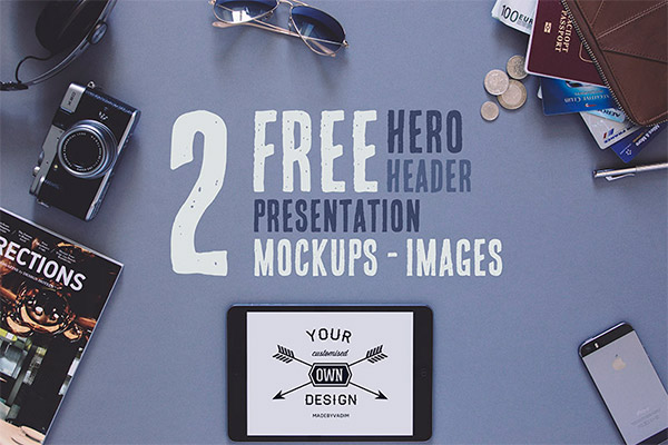2 Free Hero/Header Presentation Images