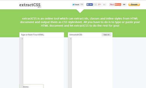 Extractcss