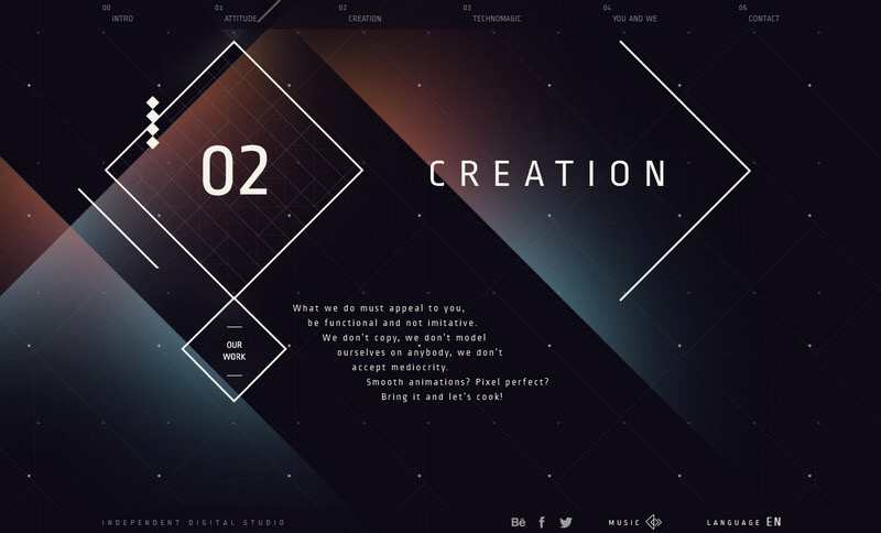Touch of Technomagic – Literally Fantastic Website Designs