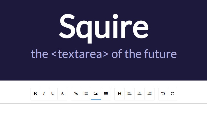 Squire – An HTML5 Rich Text Editor