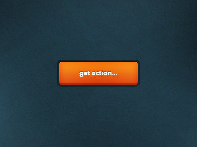 Orange Button Free PSD
