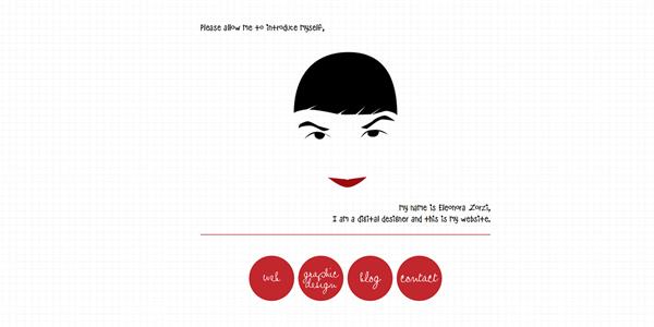 Eleonora Zorzi digital design page