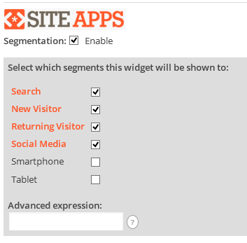 siteapps-choose