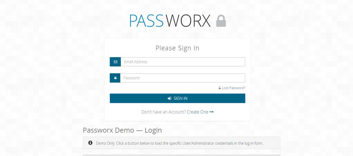 Passworx Password Locker