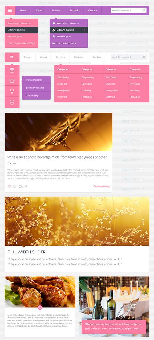 24-flat-ui-website-accessories