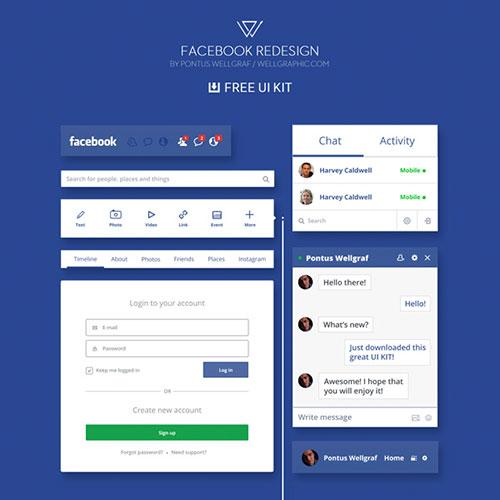 23-facebook-redesign-ui-kit