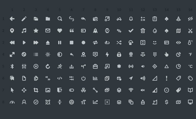 dark gamecenter iconset freebie pack