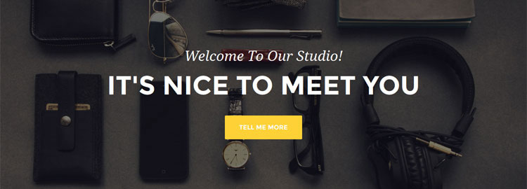 Freebie: Agency, a one page Bootstrap theme from Start Bootstrap