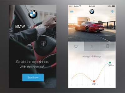 User Interface Design Inspiration – 25 UI Design Examples