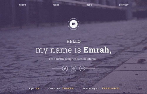 15 Free HTML/CSS Templates and PSD Files from February 2015
