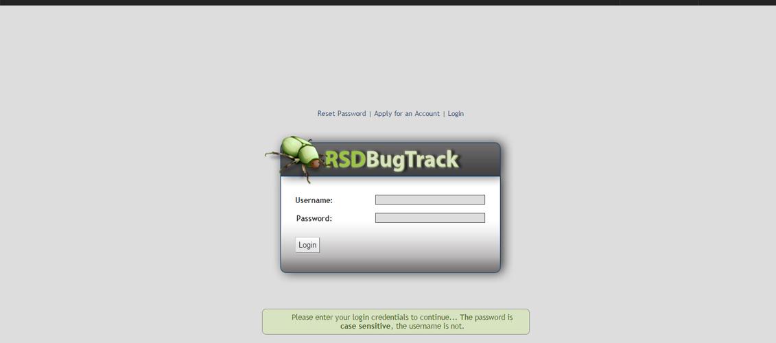 RSD Bugtrack