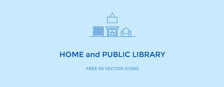 Freebie: 50 Vector Library Icons