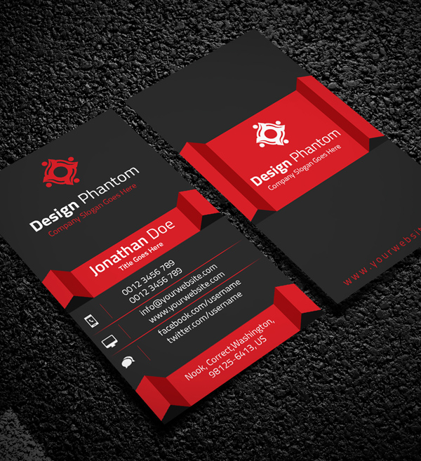 Creative Business Cards Design Print Ready IDevie - Awesome business cards templates