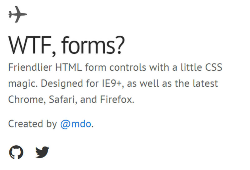 WTF Forms