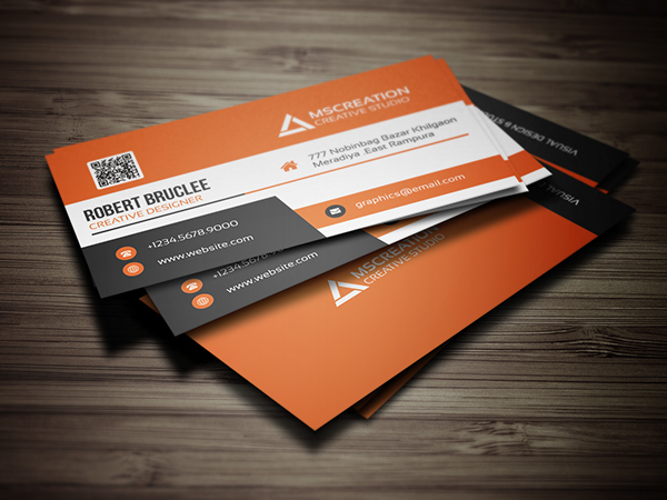 25 creative business cards design print ready idevie creative business card template wajeb Images