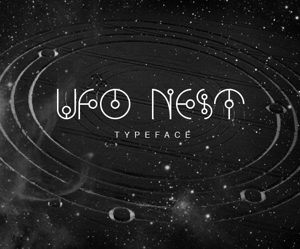 UFO NEST free font