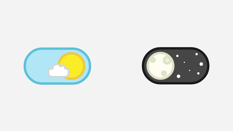CSS Day Night Toggle Switch