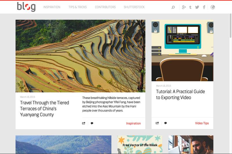 The Shutterstock Blog