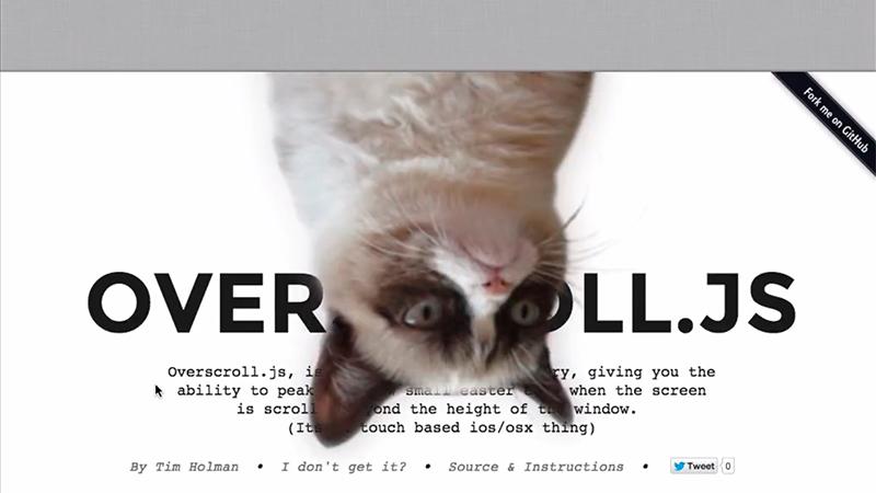 Overscroll.js