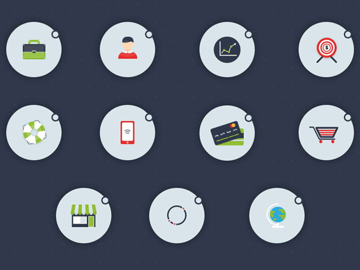 forte wares iconset full circular