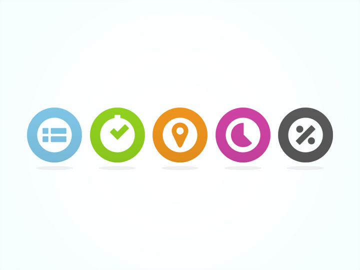 tempo product icons colorful iconset