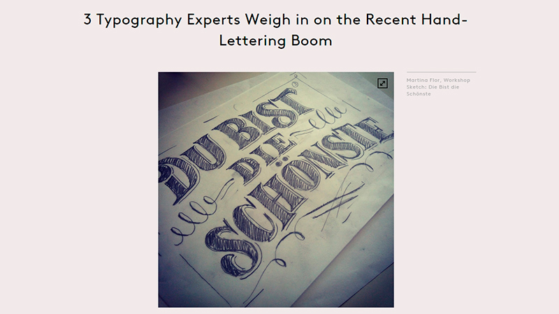 How to Tell Good Hand-Lettering From the Wannabes