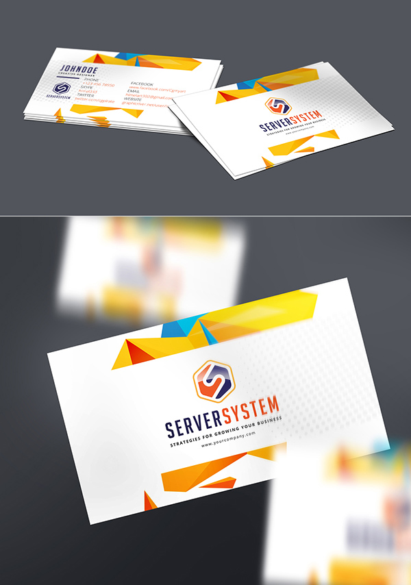 Free Busines Card Mockup