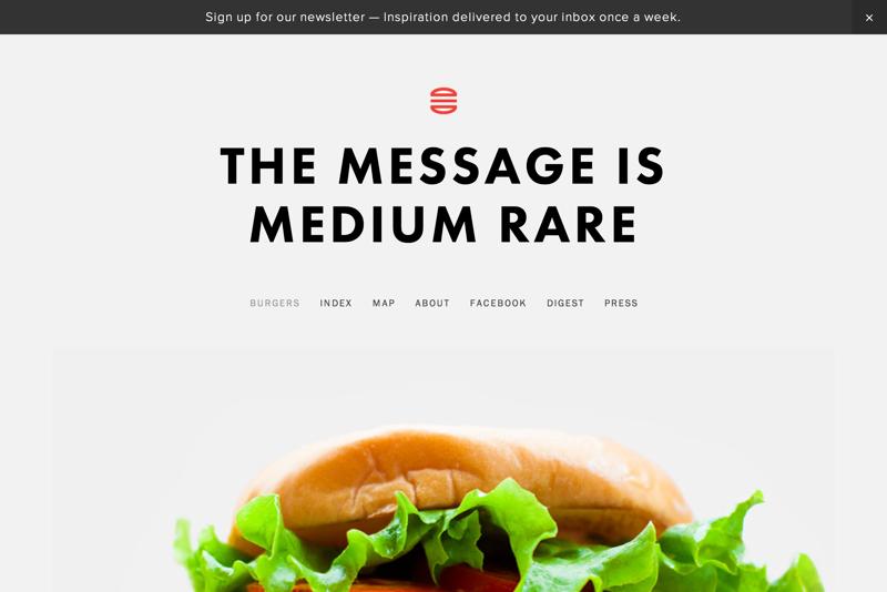 The Message is Medium Rare