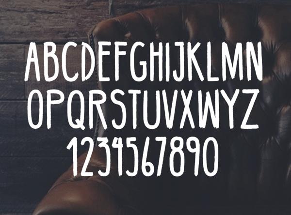 BellaBoo font letters