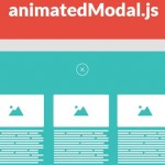 animatedModal.js – A jQuery plugin to create a fullscreen modal with CSS3 transitions