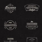 10 Free Vintage Retro Labels(PSD)