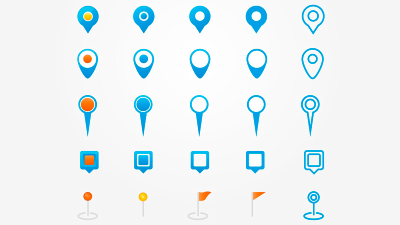 35 Map Pin Icons