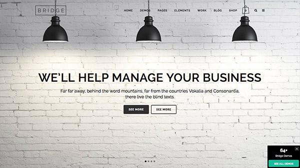 Bridge Creative Multi-Purpose WordPress Theme