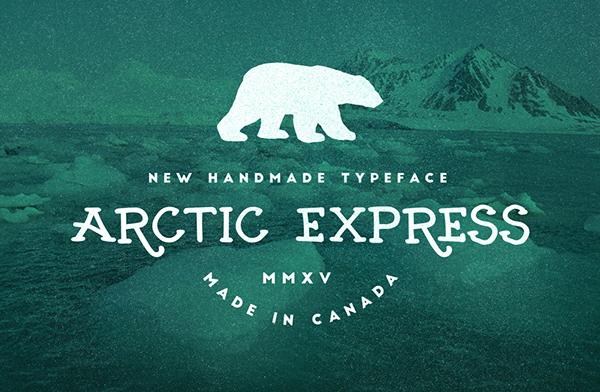 SeanCoady ArcticExpress free font