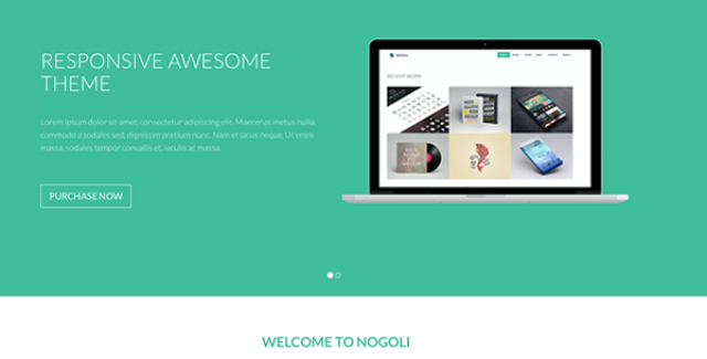 nogoli - awesome responsive theme