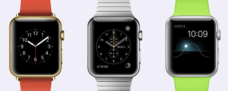 Apple Watch GUI