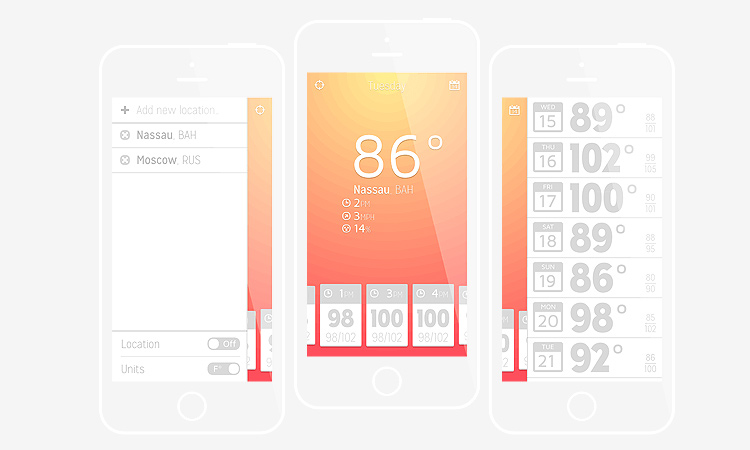 ios iphone app weather illustrator tutorial