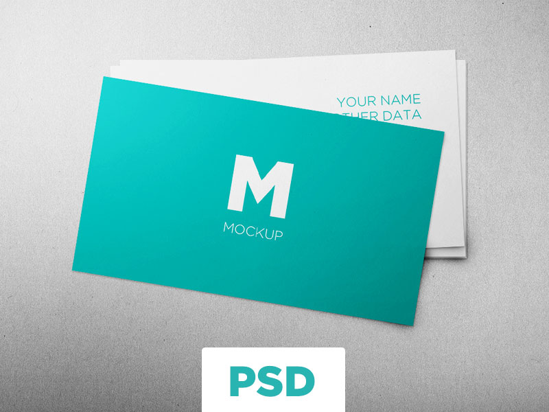 Free Business Cards Mockup by Alberto González Roges