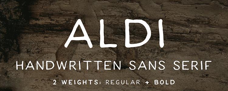 ALDI Font