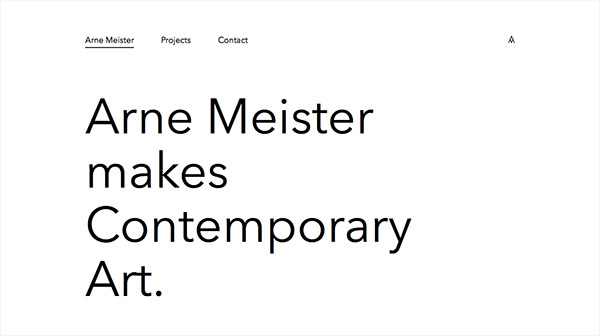 Arne Meister Contemporary Art