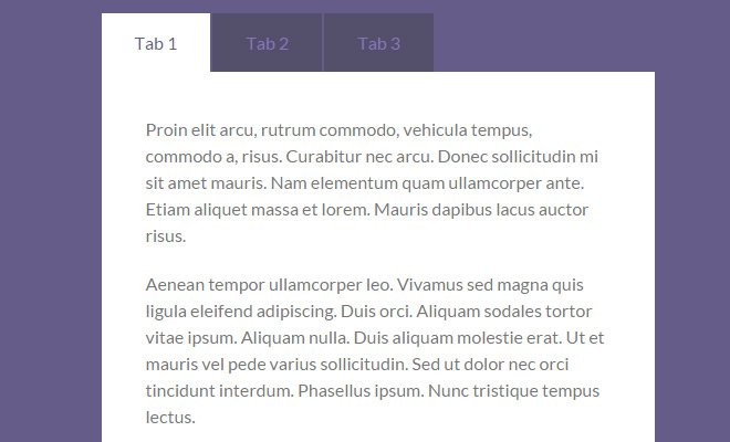 tabulous custom jquery tabs plugin