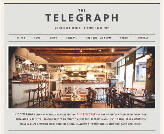The Telegraph by Ben Murden