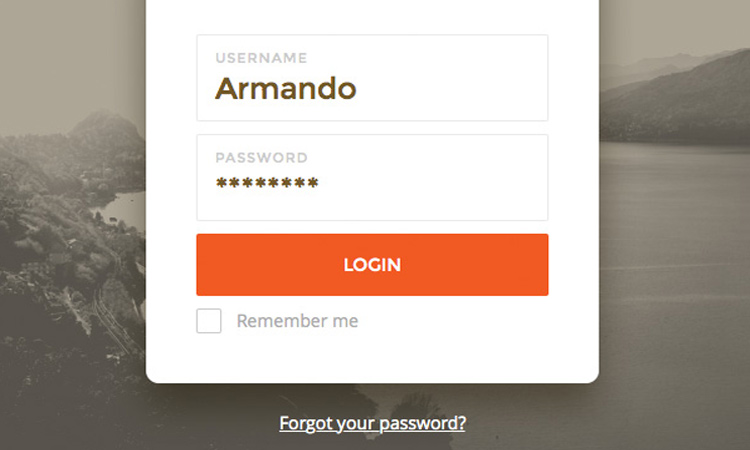 sketch ui tutorial login form