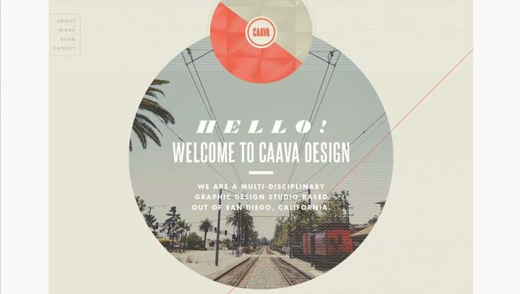 Caava Design Website Redesign and Brand Overhaul by Cody Small