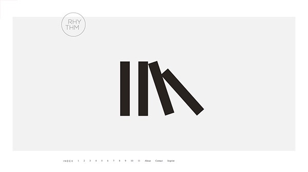 25 Inspiring Examples of Ultra Minimal Web Design