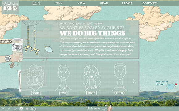 25 Fantastic Horizontal Scrolling Sites You'll Love