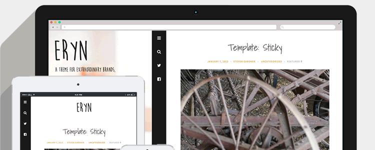 Eryn Blogging Theme