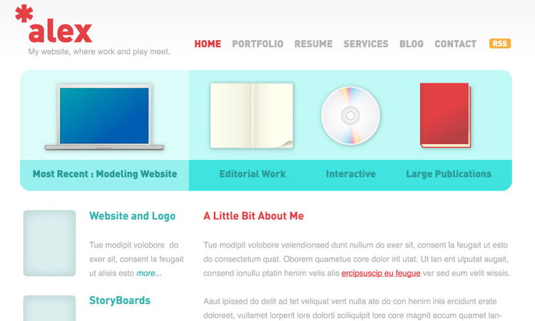 clean website layout vector tutorial