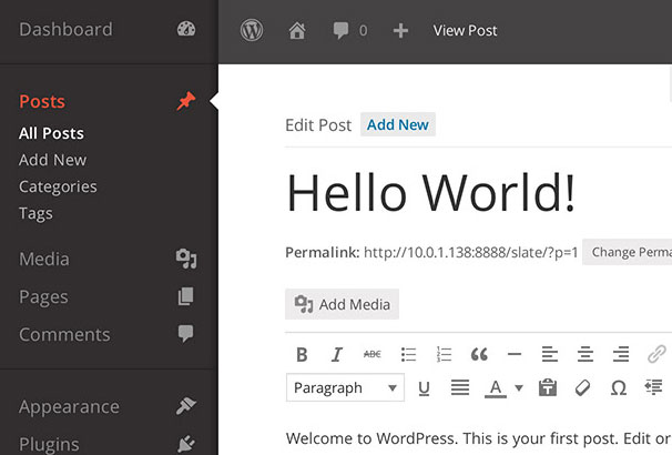 how to change color theme in dynamic news wordpress