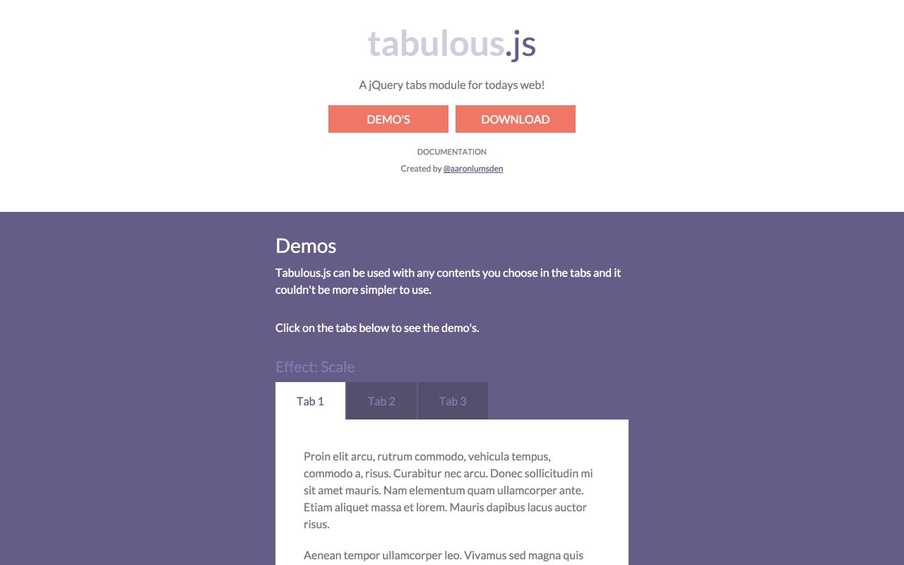 Tabulous